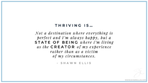 Thriving Defined by Shawn Ellis